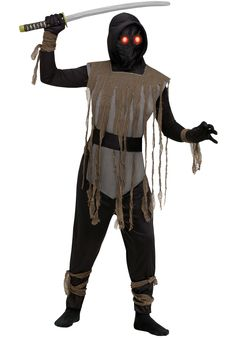 Ninja Fade In/Out Demon Kids Costume - Child Halloween Costumes at Escapade
