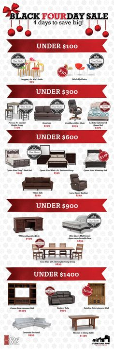 Looking To Save Big On Black Friday Furniture Deals? After Filling Up On  Thanksgiving Turkey And Watching The Big Game, Head To Furniture Row To  Take ...