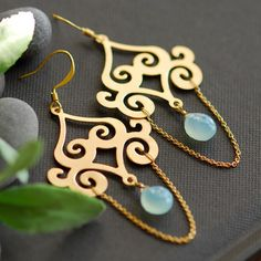Persian Jewelry Earrings | Persian earrings by joojooland on Etsy