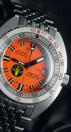 "DOXA Sub 300 ""Black Lung"" Limited Edition Automatic watch"