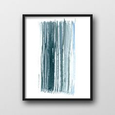 Printable Art, Industrial Print, Blue Print, Coastal Print, Home Decor, Minimalist Poster, Digital Download, Watercolor Art, Wall Art by ModPrintNow on Etsy