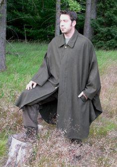 Loden Friedl - Lodenbekleidung und Lodenzubehör für die Jagd - Lodenkotze Wetterfleck lodencape cape
