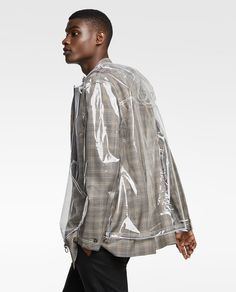 Image 4 of TRANSPARENT RAINCOAT from Zara