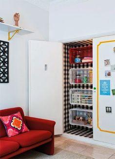 Tu Organizas.: Organize e decore com engradados plásticos