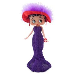 "Betty Boop Red Hat 10"" Doll"