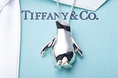 Tiffany penguin pendant