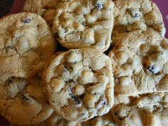 White chocolate chip/cranberry cookies - Cranberries aren't just for Turkey!