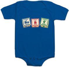 #ThinkGeek                #ThinkGeek                #Periodic #BaBY #Bodysuit                           Periodic BaBY Bodysuit                              http://www.seapai.com/product.aspx?PID=1807082