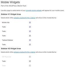 Mobile-Widgets