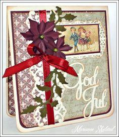 Mariannes papirverden.: God Jul:)