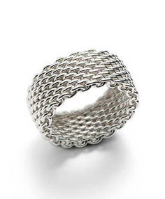 Tiffany & Co Outlet Mesh Ring