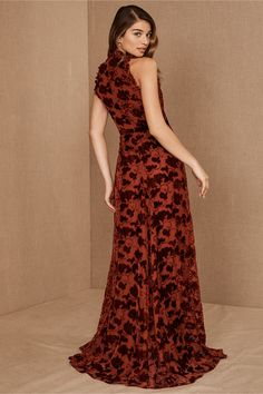 ML Monique Lhuillier Hawes Dress by in Red Size: Women's Dresses at Anthropologie Holiday Party Dresses, Sequin Party Dress, Prom Party Dresses, Formal Dresses, Long Dresses, Holiday Parties, Rose Gold Long Dress, Boho Dress, Lace Dress