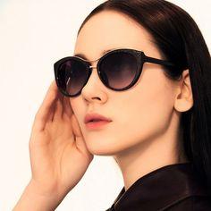 Vintage Retro Embossed Sunglasses