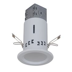 Utilitech White 3-In Integrated LED Remodel Recessed Lighting Kit 8 watts, very bright...want! $34.98