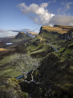 Skye, Scotland. We only had one day to explore this island but it was stunning. We saw 10 years worth of rainbows and waterfalls in one day! DL