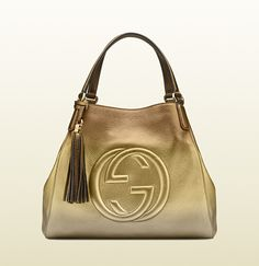0f4d85bf4 Gucci soho shaded leather shoulder bag $2350 This is FAB! Dior Handbags,  Gold Handbags