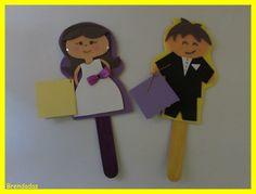 Muñecos-regalo para boda...¡estrenamos temporada!