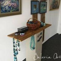 """Wystawa """"Pasją Malowane"""" - Gallery ArtWilk - Artwilk Entryway Bench, Storage, Furniture, Home Decor, Entry Bench, Purse Storage, Hall Bench, Decoration Home, Room Decor"""