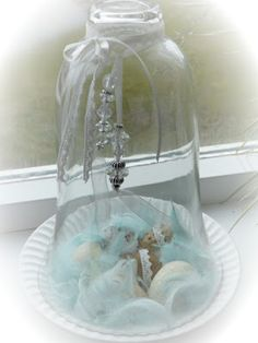 Shabby bell glass