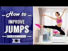 5 Exercises to Improve Jumps | Lazy Dancer Tips - YouTube
