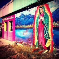 El Mural De La Virgen