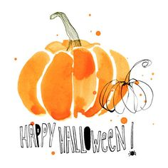 Margaret Berg Art : Illustration : fall / halloween ❤ liked on Polyvore featuring home, home decor, autumn, fillers, words, halloween home decor, autumn home decor and fall home decor