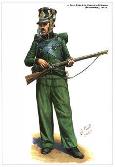 PRUSSIA -  Linien Infanterie, 1812