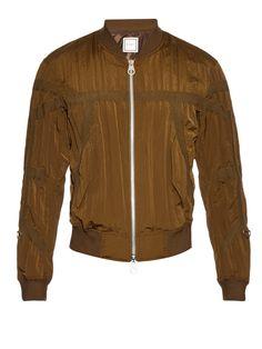 Creased-effect bomber jacket | Wooyoungmi | MATCHESFASHION.COM
