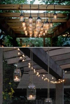 pergola design ideas and how to incorporate one into your garden design Backyard Lighting, Outdoor Lighting, Outdoor Decor, Lighting Ideas, Outdoor Dining, Outdoor Ideas, Party Outdoor, Lighting Design, Outdoor Projects