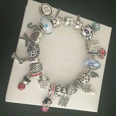 Tendance Bracelets  My family Pandora bracelet