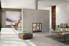 Get The Look: Industrial Style with a Polished Concrete Tile