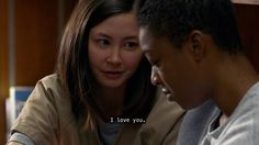 I love you. | soso and poussey