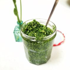 Wild garlic (ramsons) pesto perfect for pasta this spring  http://meandmysecondself.wordpress.com