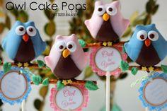 Owl Love You Cake Pops Tutorial