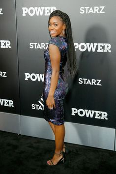 Teyonah Parris Photos - STARZ 'Power' New York Season Three Premiere - Zimbio