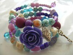 Handmade jewelry - Zoet Geluk #watdoetvanessanu #zoetgeluk #bracelet #pastel #armbanden #beads #kralen