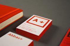 A +  Self-Branding by Abbas Mushtaq, via Behance