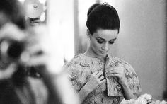Audrey Hepburn photographed in her suite at The Ritz in Paris, 1964. Photographs by Angela Williams.