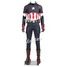 2016 nova Marvel os vingadores : Age of Ultron capitão américa Steve Rogers Outfits traje super herói //Price: $US $304.00 & FREE Shipping //    #civilwar #thor #hulk #antman #marvel