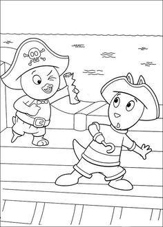 Backyardigans Tegninger til Farvelægning 18
