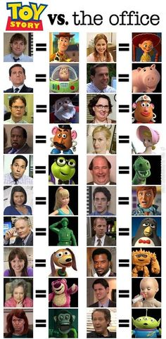 Funny pictures about Toy Story vs. The Office. Oh, and cool pics about Toy Story vs. The Office. Also, Toy Story vs. The Office. Stupid Funny Memes, The Funny, Hilarious, Funny Stuff, Office Jokes, Funny Office, The Office Show, Toby The Office, Parks N Rec