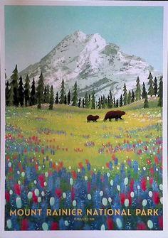 Mount Rainier National Park, National Parks, Mountains, Nature, Cards, Travel, Naturaleza, Viajes, Destinations