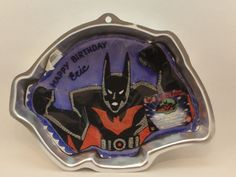 Wilton DC Comics 2000 Batman Beyond Cake Pan 2105-9900 #Wilton