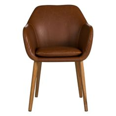Irving Carver Chair  Tan