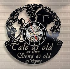 I need this clock!    Beauty and the Beast Products you MUST HAVE | Clothes, Decor, Jewelry and MORE - Saving Toward A Better Life