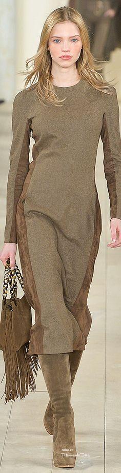 Ralph Lauren ~ Fall Dress, 2015
