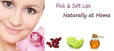 How To Get Pink Lips Naturally At Home #BeautyTips #GlowingSkin