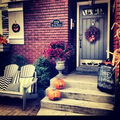 Fall porches- urbanity interiors