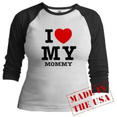 #Artsmith Inc             #ApparelTops              #Raglan #Love #Mommy #Mother #Heart                 Jr. Raglan I Love My Mommy - Mom Mother Heart                                 http://www.seapai.com/product.aspx?PID=7455368