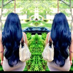 "30"" virgin Indian #Wavy... Long hair don'r care"